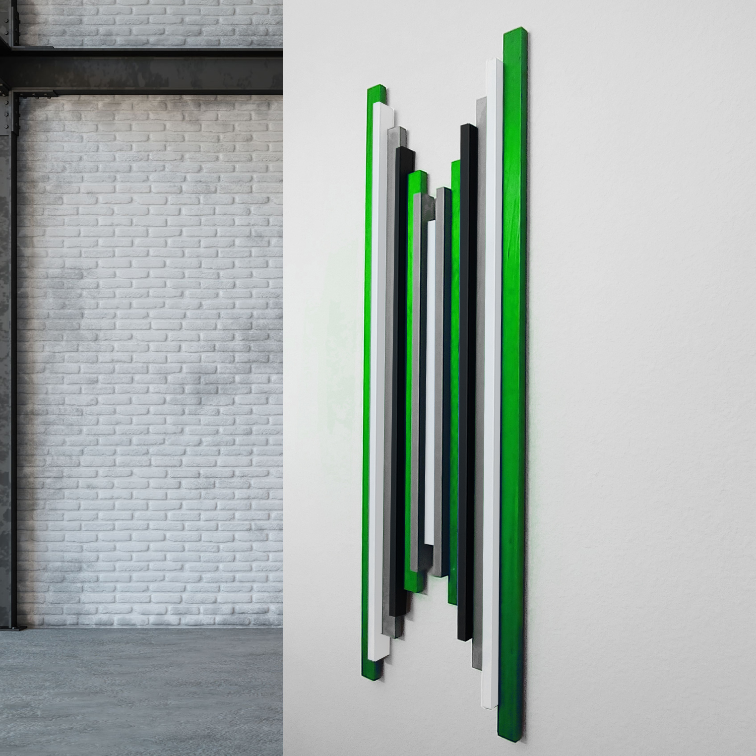 Green Wall Sculpture