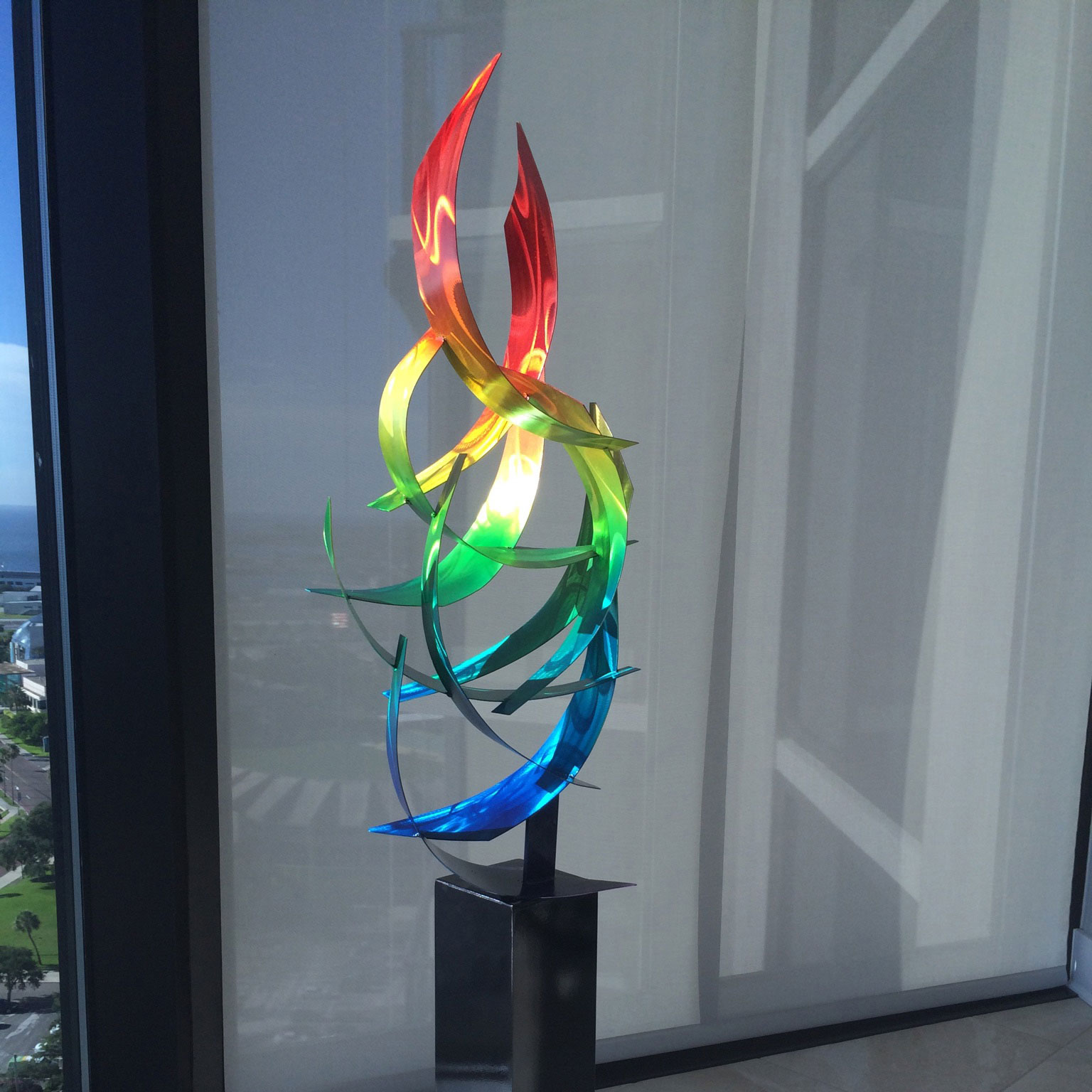 Rainbow Sculpture